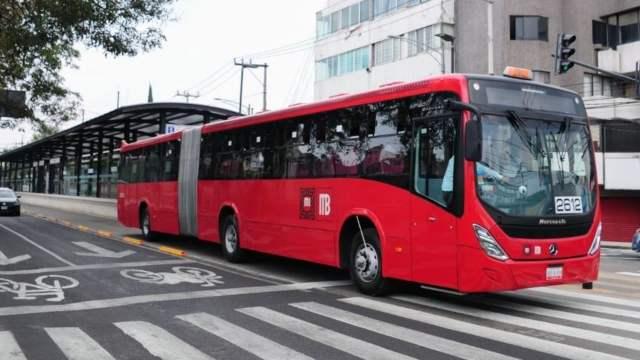 Metrobús en la Ciudad de México