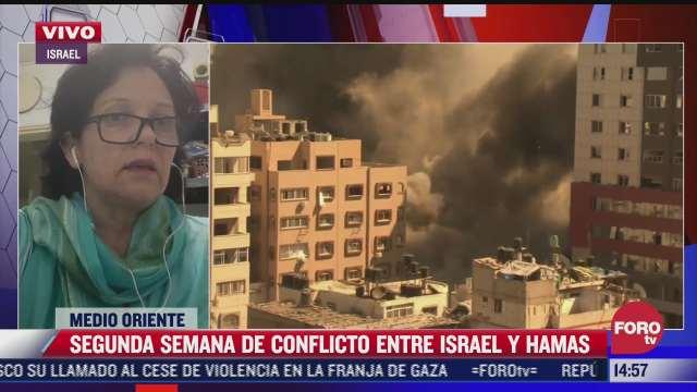 mexicana narra la pesadilla que se vive por la guerra entre israel y hamas