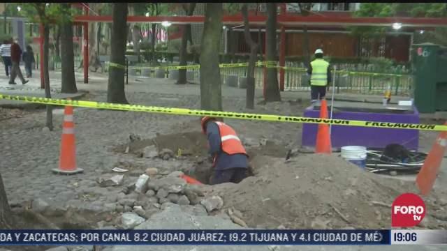 perforan accidentalmente ducto de gas natural en tlatelolco