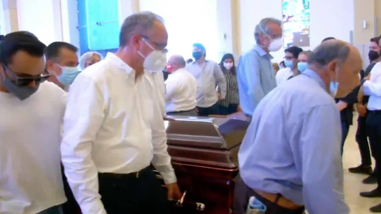 Realizan funeral de Abel Murrieta, candidato de Movimiento Ciudadano y abogado de la familia Le Baron asesinado en Cajeme