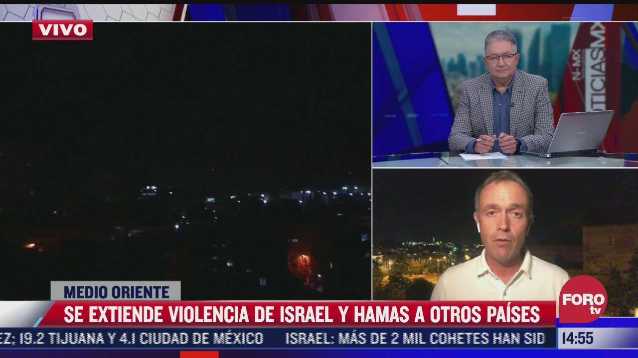 se extiende violencia de israel contra la franja de gaza