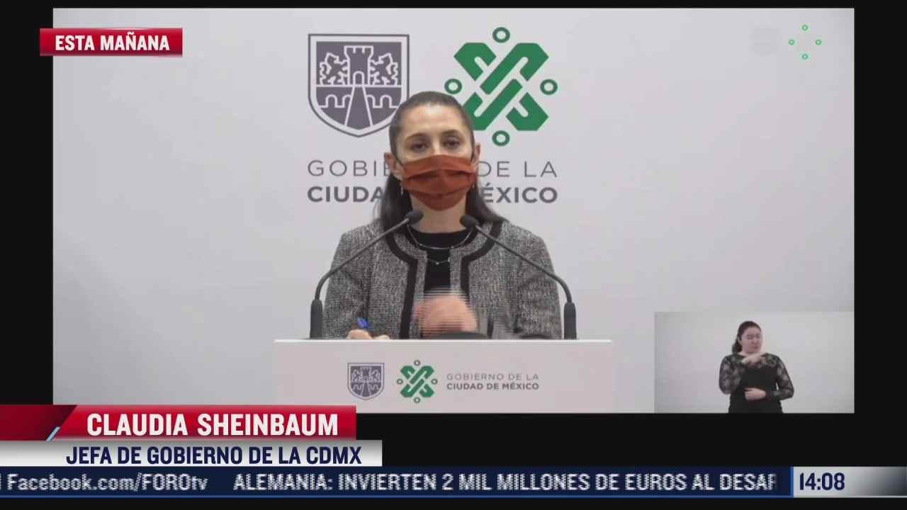 sheinbaum no descarta reabrir el tramo subterraneo de la linea 12 del metro