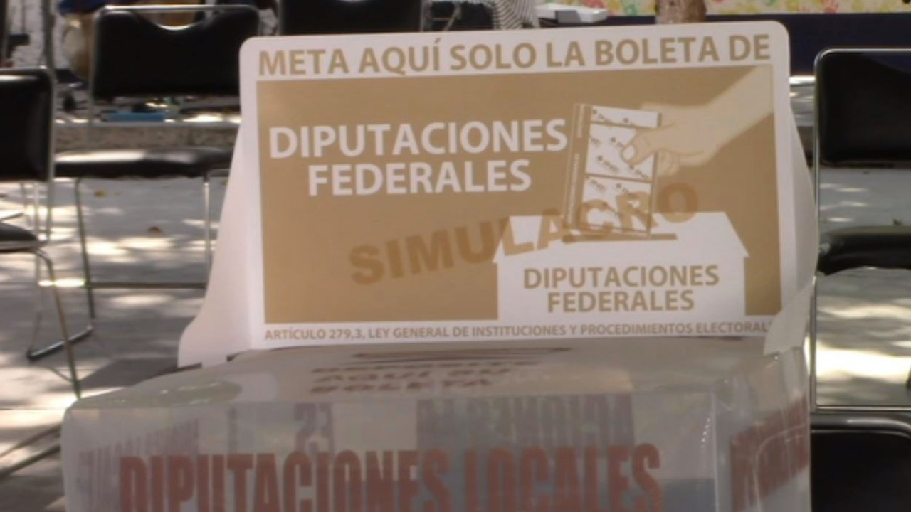 Desinfectarán casillas (Noticieros Televisa)