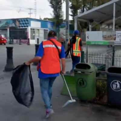 ¿Sin pagar las multas? Así realizan trabajo comunitario infractores en Iztapalapa, CDMX