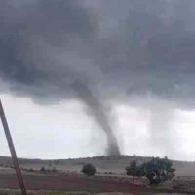 Tornado afecta varias comunidades en Hidalgo