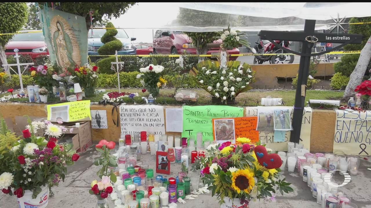 vecinos de tlahuac piden a autoridades no quitar memorial a victimas de l