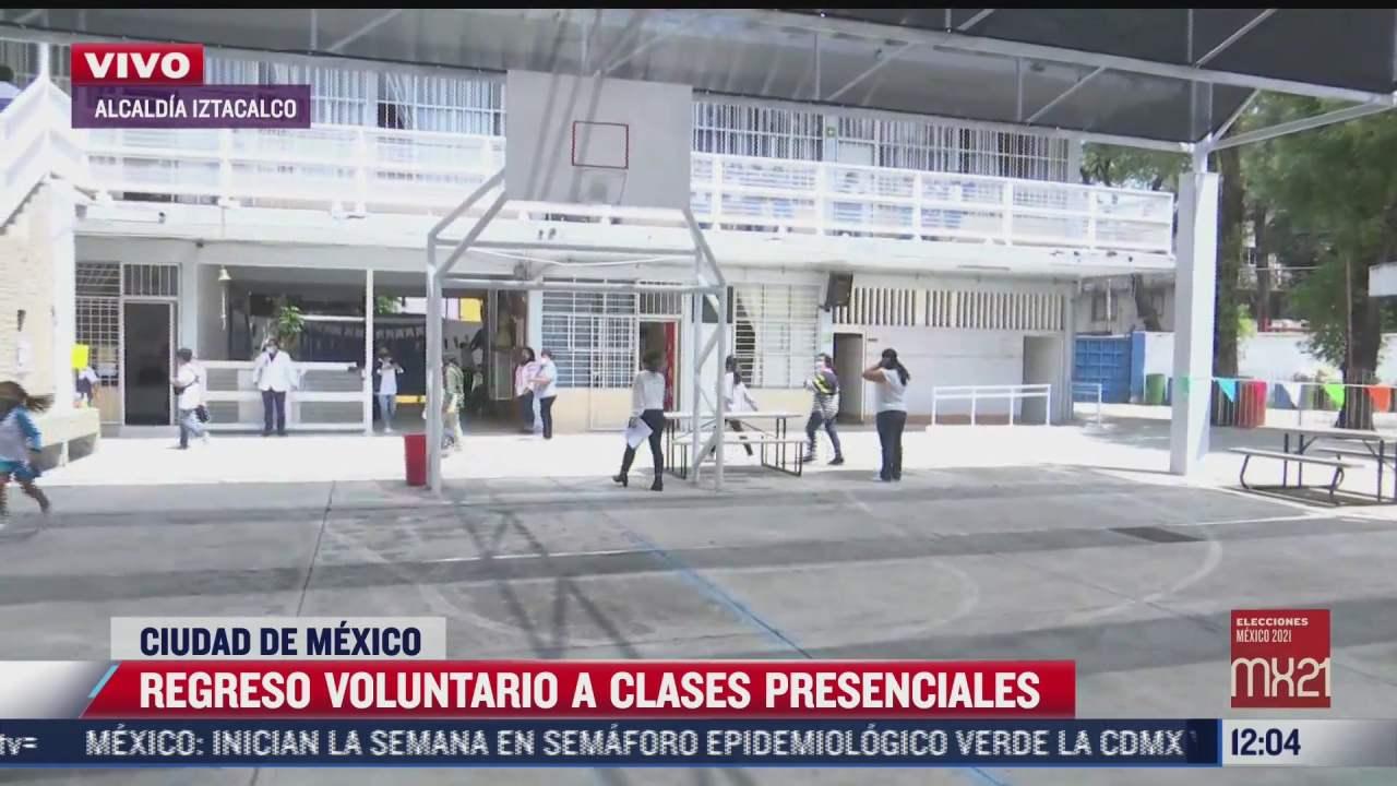 10 de las escuelas de la cdmx regresan a clases presenciales