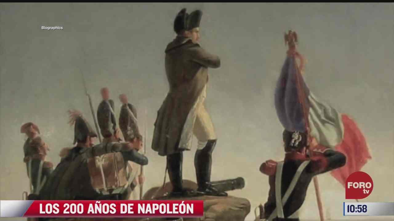 200 anos de la muerte de napoleon bonaparte