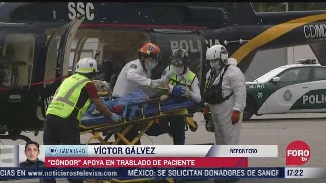ambulancia aerea traslada a nino de 7 anos con lesion en la cabeza