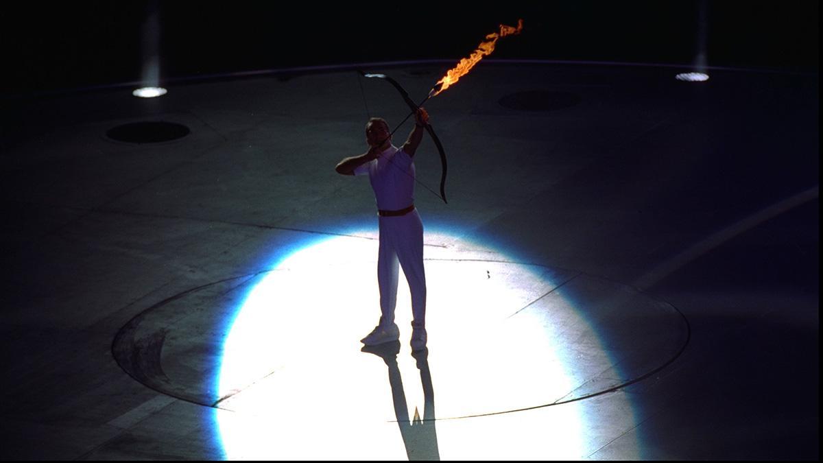 Antonio Rebollo fue el encargado de encender el pebetero olímpico en Barcelona 92