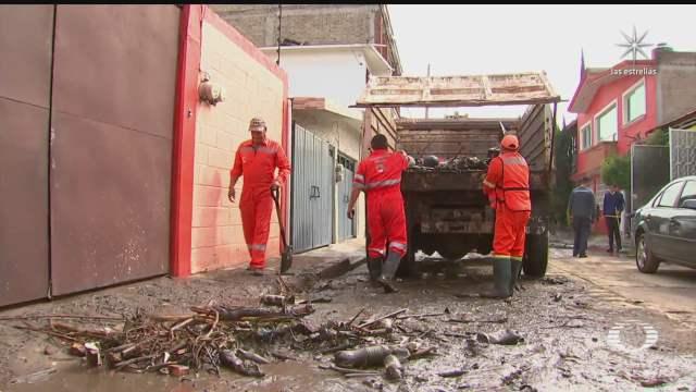 atizapan una de las zonas mas afectadas por lluvias e inundaciones