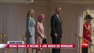 biden se reune con la reina isabel en el palacio de windsor