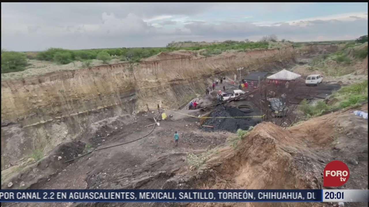 binomios caninos se suman a busqueda de mineros atrapados en coahuila
