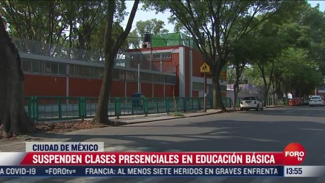 cancelan regreso a clases presenciales en la cdmx