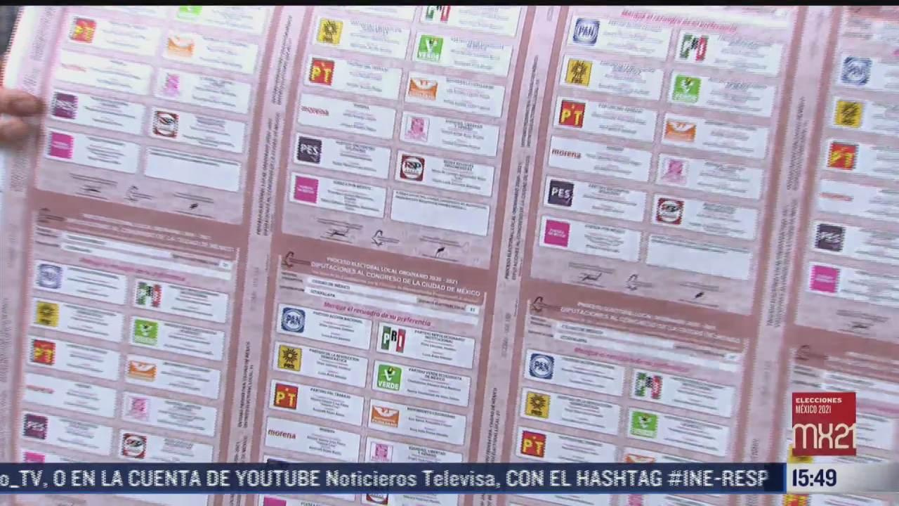 como se elaboran las boletas electorales en mexico