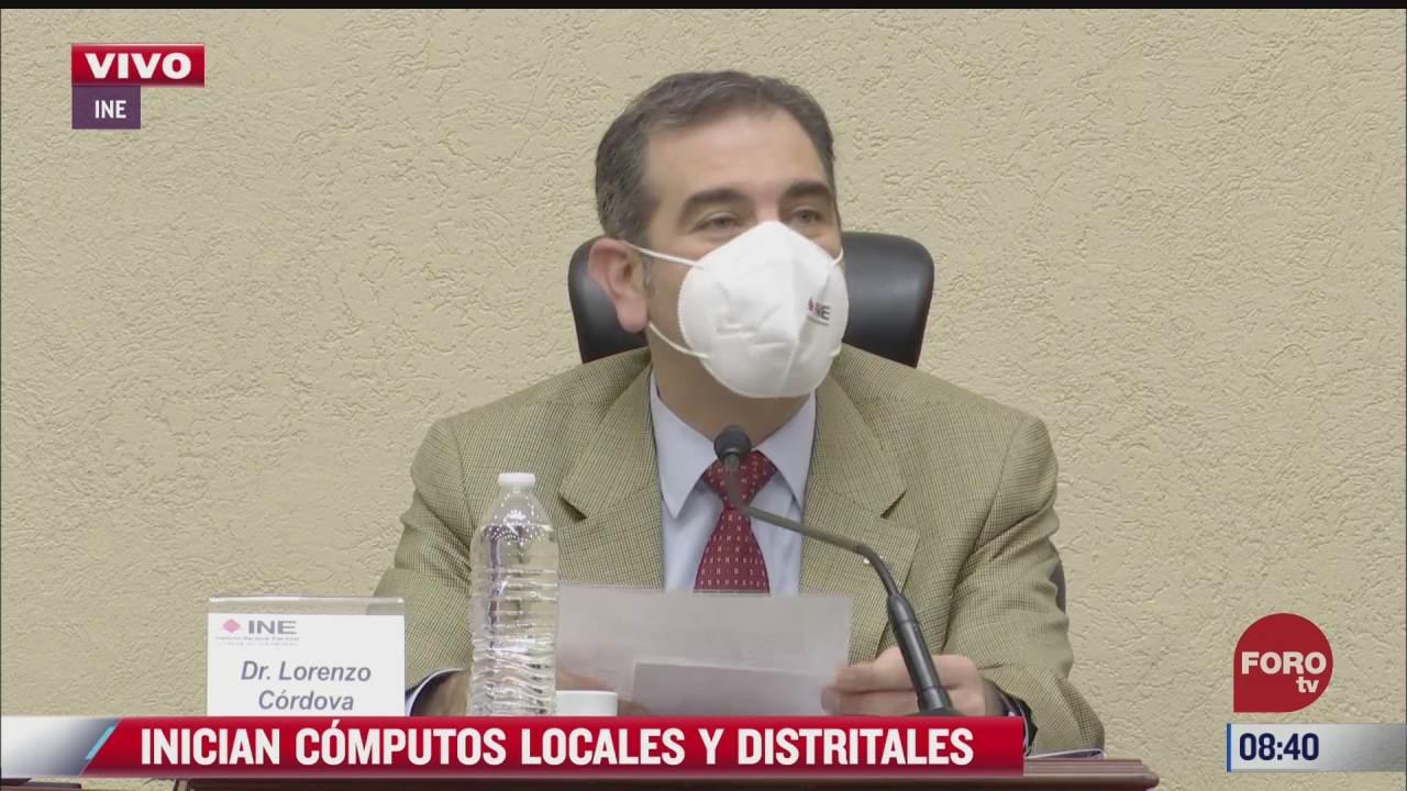 computos distritales permitiran llegar a los resultados legales del proceso electoral lorenzo cordova