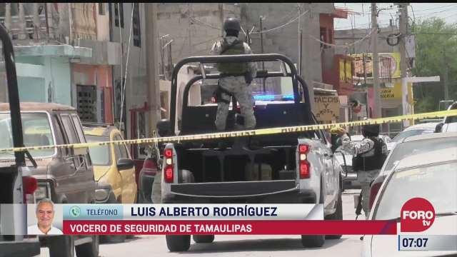 crimen organizado provoca violencia en reynosa vocero de seguridad de tamaulipas