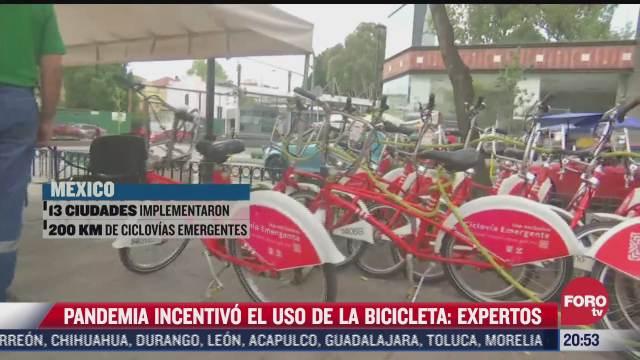 emergencia sanitaria por covid 19 incentivo uso de bicicleta