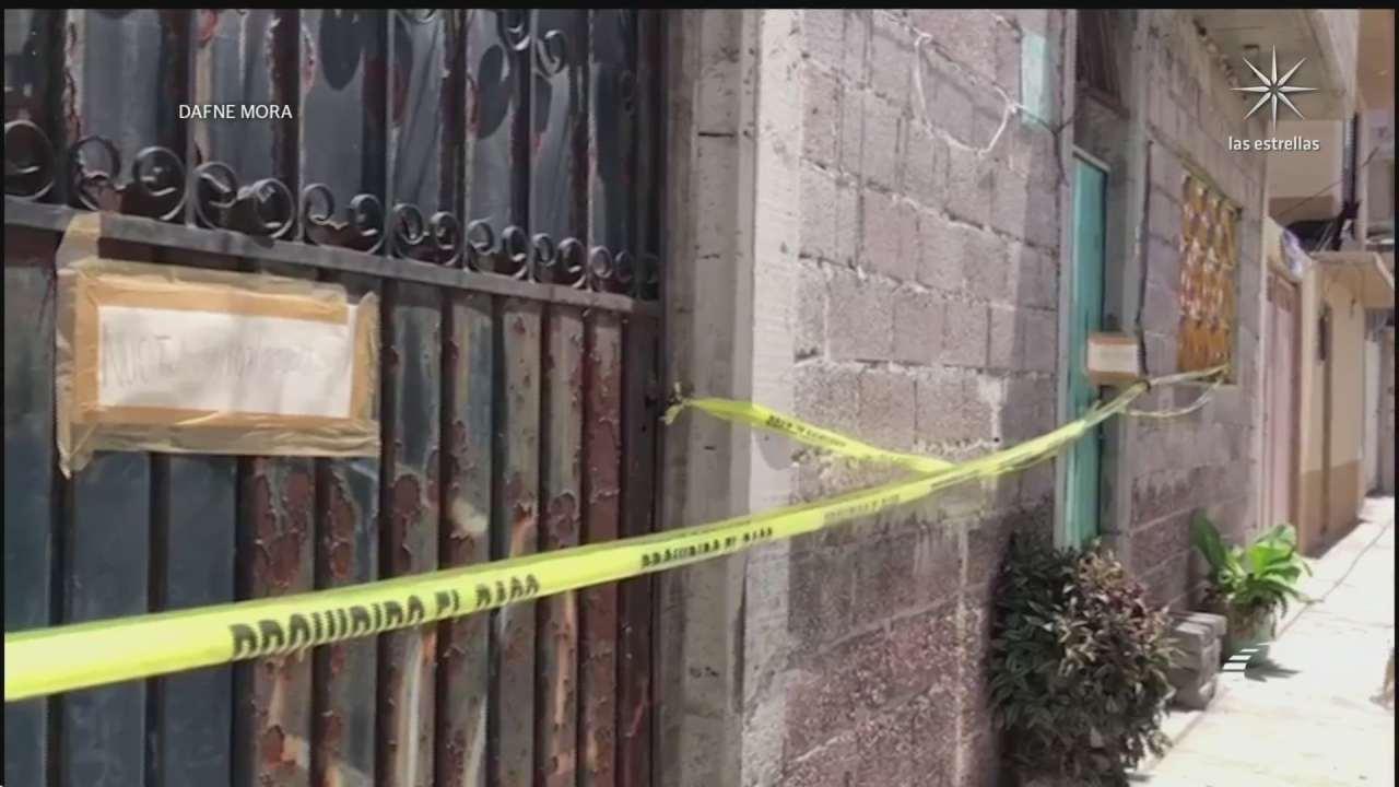 encuentran a familia desaparecida hace 10 meses enterrada en su casa en ecatepec