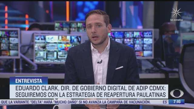 entrevista con eduardo clark director general de gobierno digital de la agencia digital de cdmx para despierta