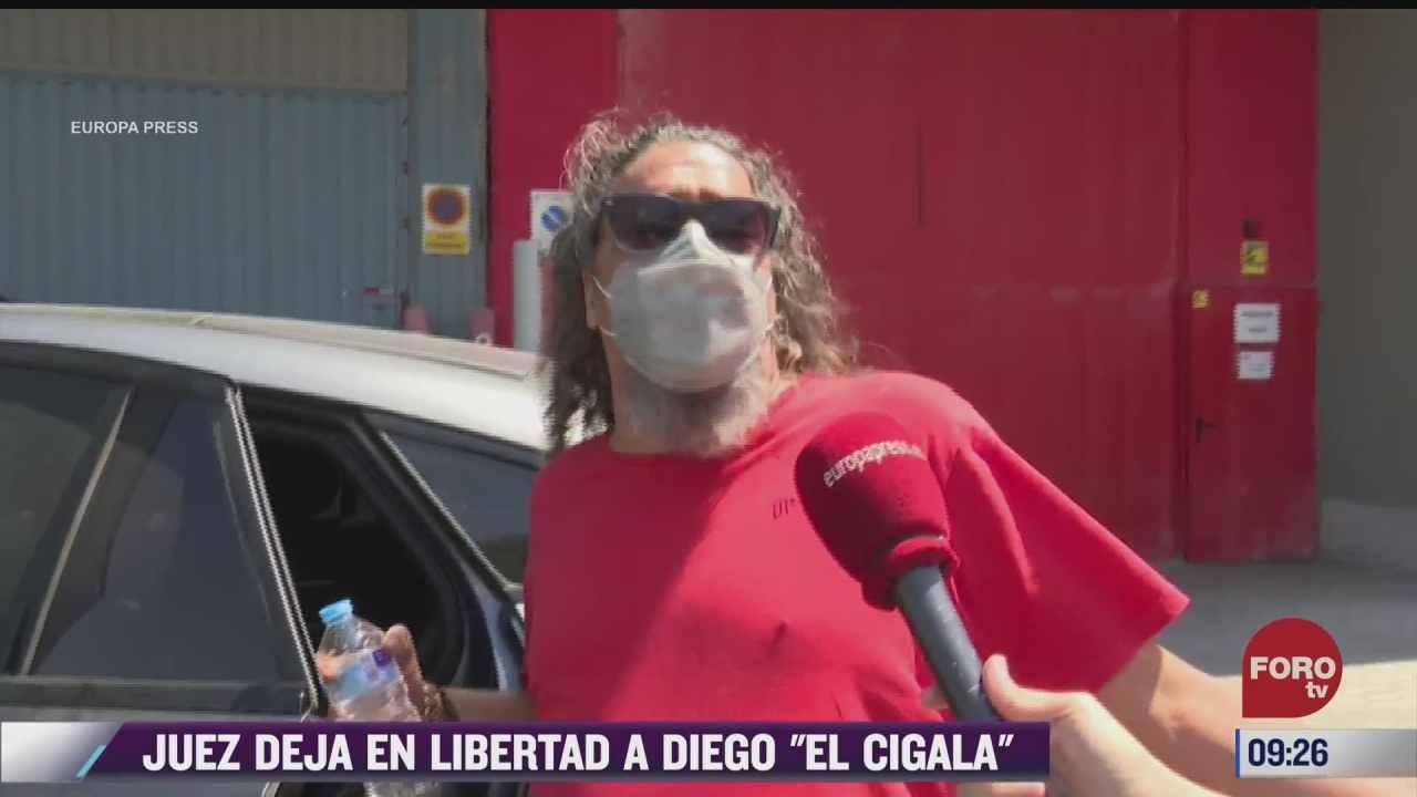 espectaculosenexpreso juez deja en libertad a diego el cigala