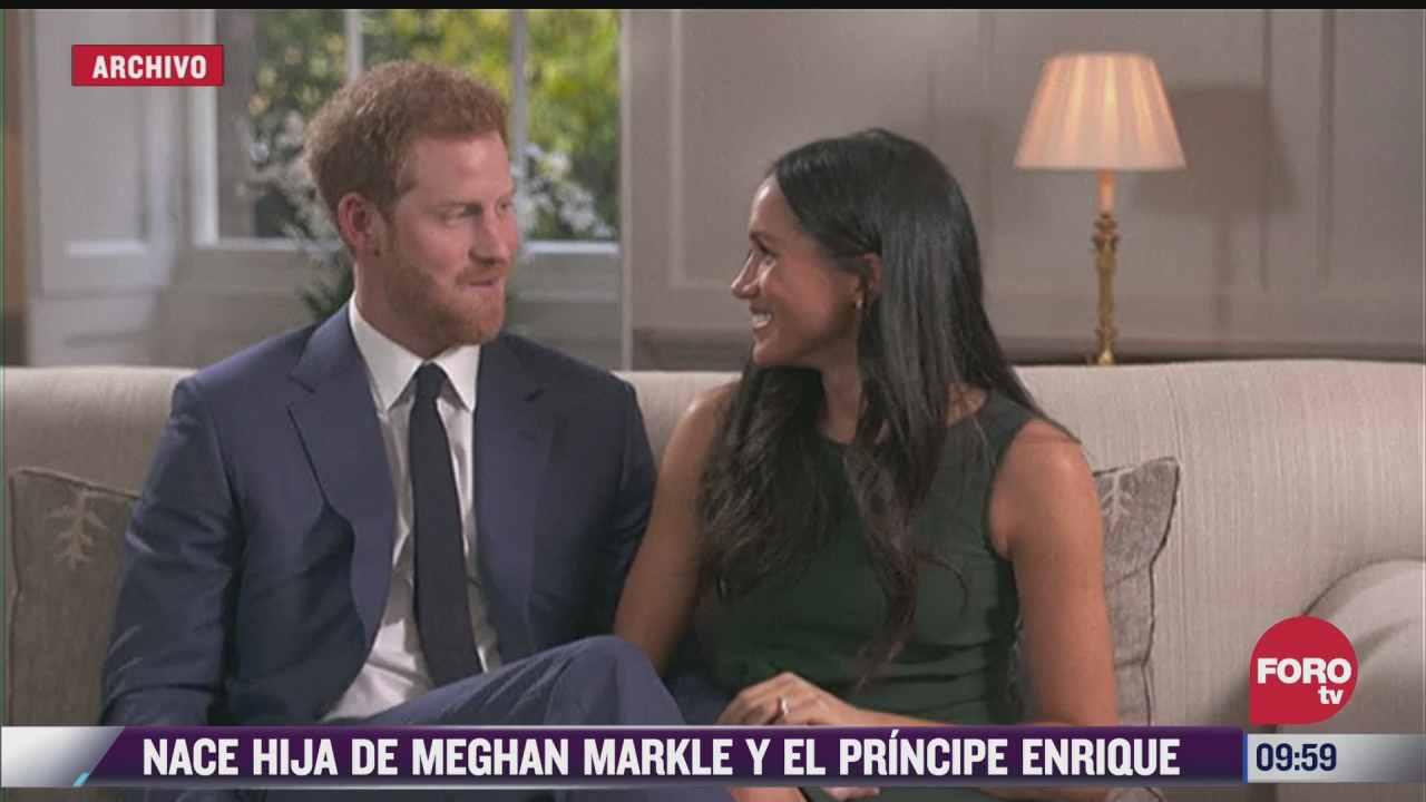 espectaculosenexpreso nace hija de meghan markle y el principe enrique