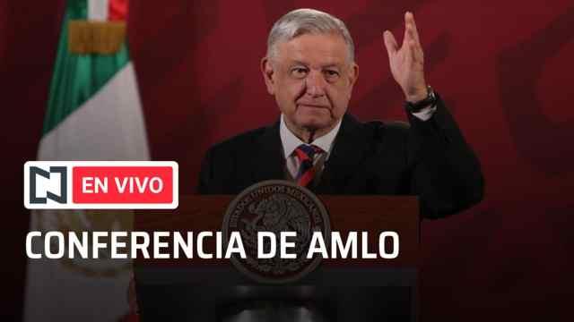 Foto conferencia mañanera AMLO, nueva