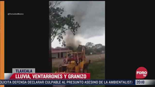 impresionante tornado sorprende a habitantes de tamaulipas