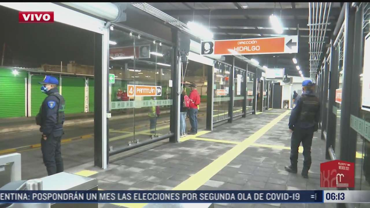 inicia operaciones la extension de linea 4 del metrobus