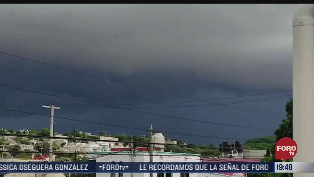 intensas lluvias causan afectaciones en distintos municipios de campeche