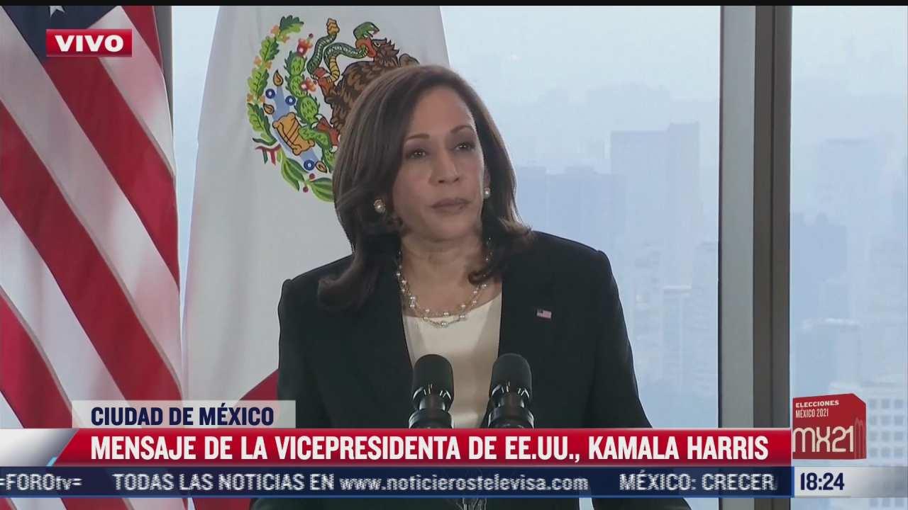 kamala harris aborda el tema de la migracion durante su visita a mexico