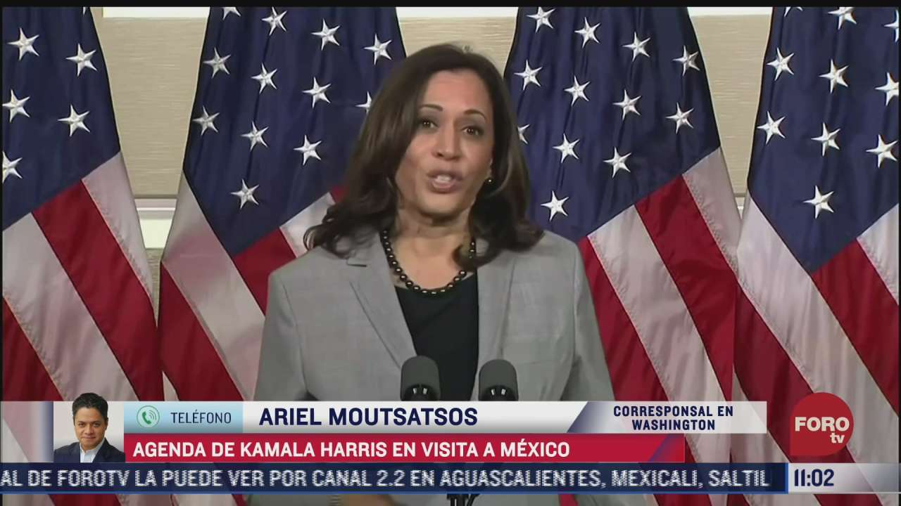 kamala harris anuncia su agenda ante su visita a mexico