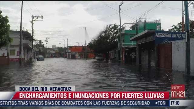 las fuertes lluvias siguen en varias partes de mexico