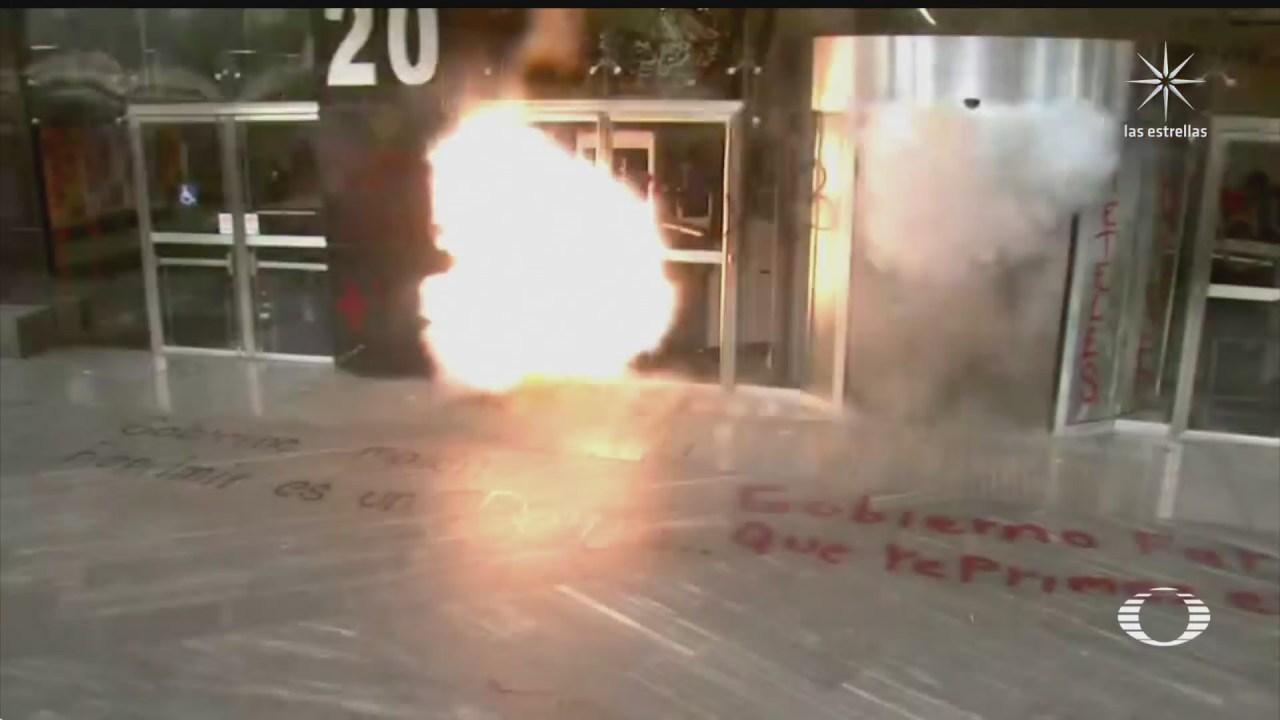 liberan a normalistas de chiapas tras violentas protestas