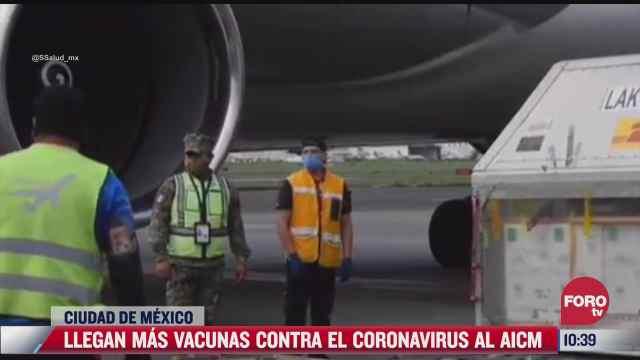 llega a mexico nuevo lote de vacunas covid 19 de pfizer 17 junio