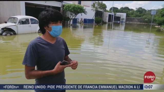 lluvia causa apagones en yucatan y quintana roo