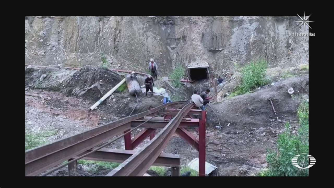 Derrumbe en mina de Múzquiz Coahuila deja 7 trabajadores atrapados