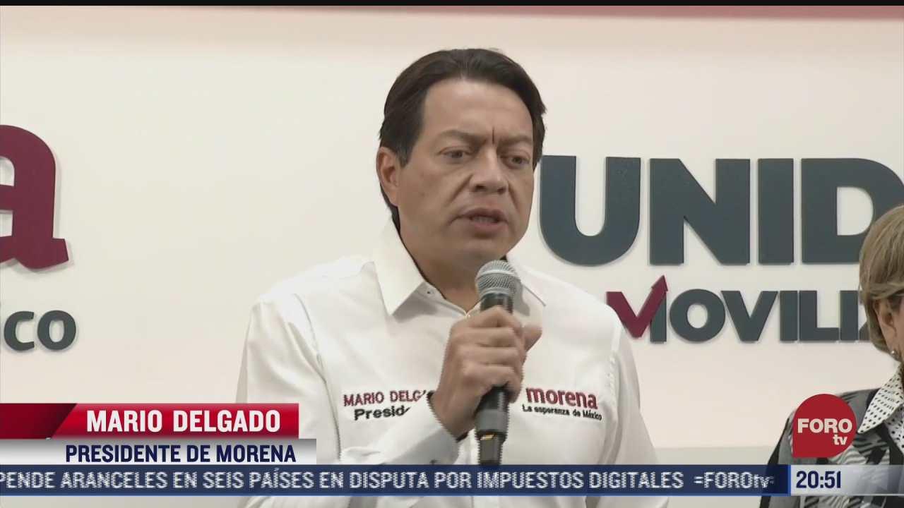 mario delgado denuncia presunta agresion en tamaulipas
