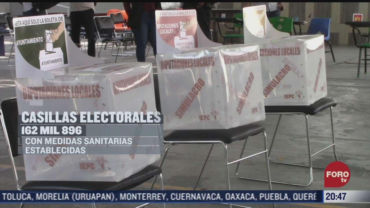 medidas sanitarias en casillas electorales