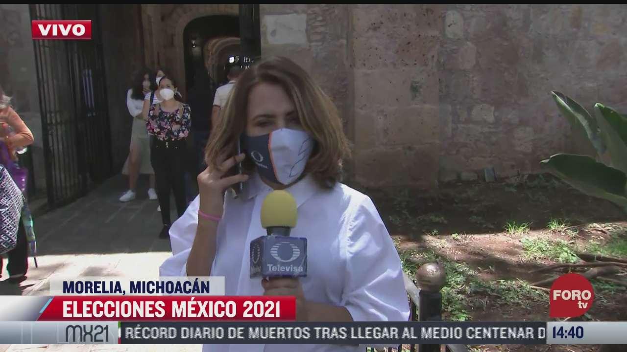 michoacan vive jornada electoral en calma