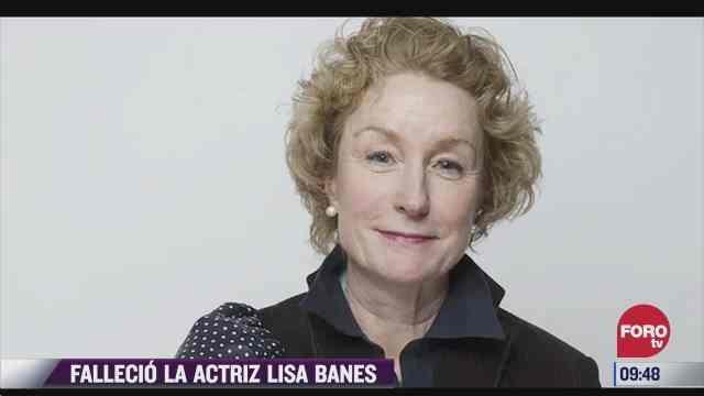 muere la actriz lisa banes luego de ser atropellada en nueva york