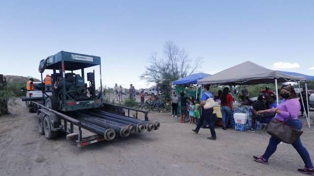 Labores de rescate en mina de Múzquiz, Coahuila (Cuartoscuro)