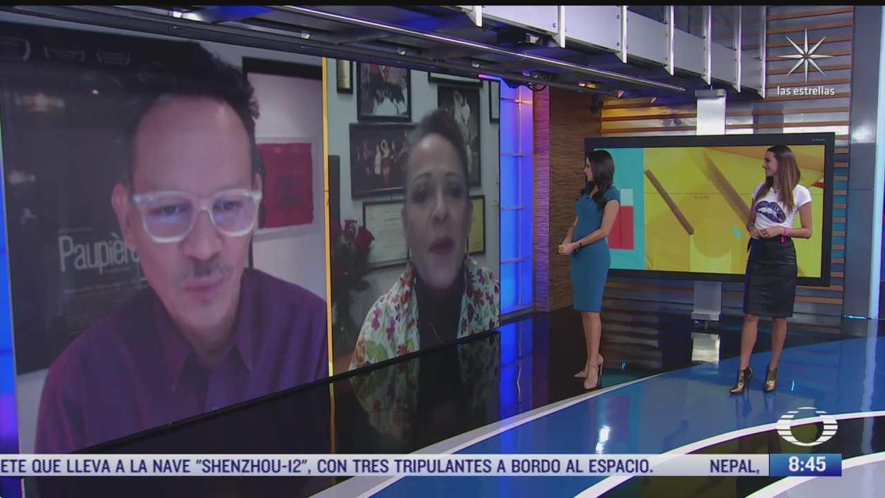 paola rojas entrevista a nora velazquez y ernesto contreras sobre la pelicula cosas imposibles