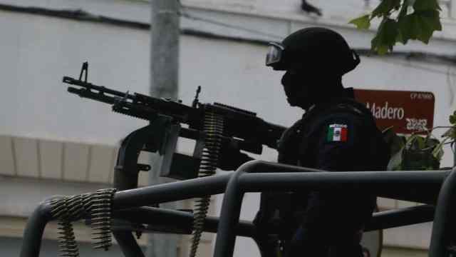Policía patrulla calles de Tamaulipas (Cuartoscuro, archivo)