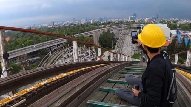 Por reto 'Montaña Rusa' en TikTok, jóvenes ingresan ilegalmente a la Feria de Chapultepec