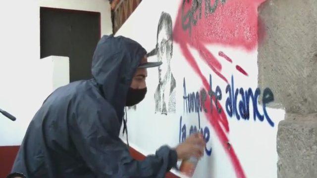 protesta por 50 aniversarios del halconazo en cdmx