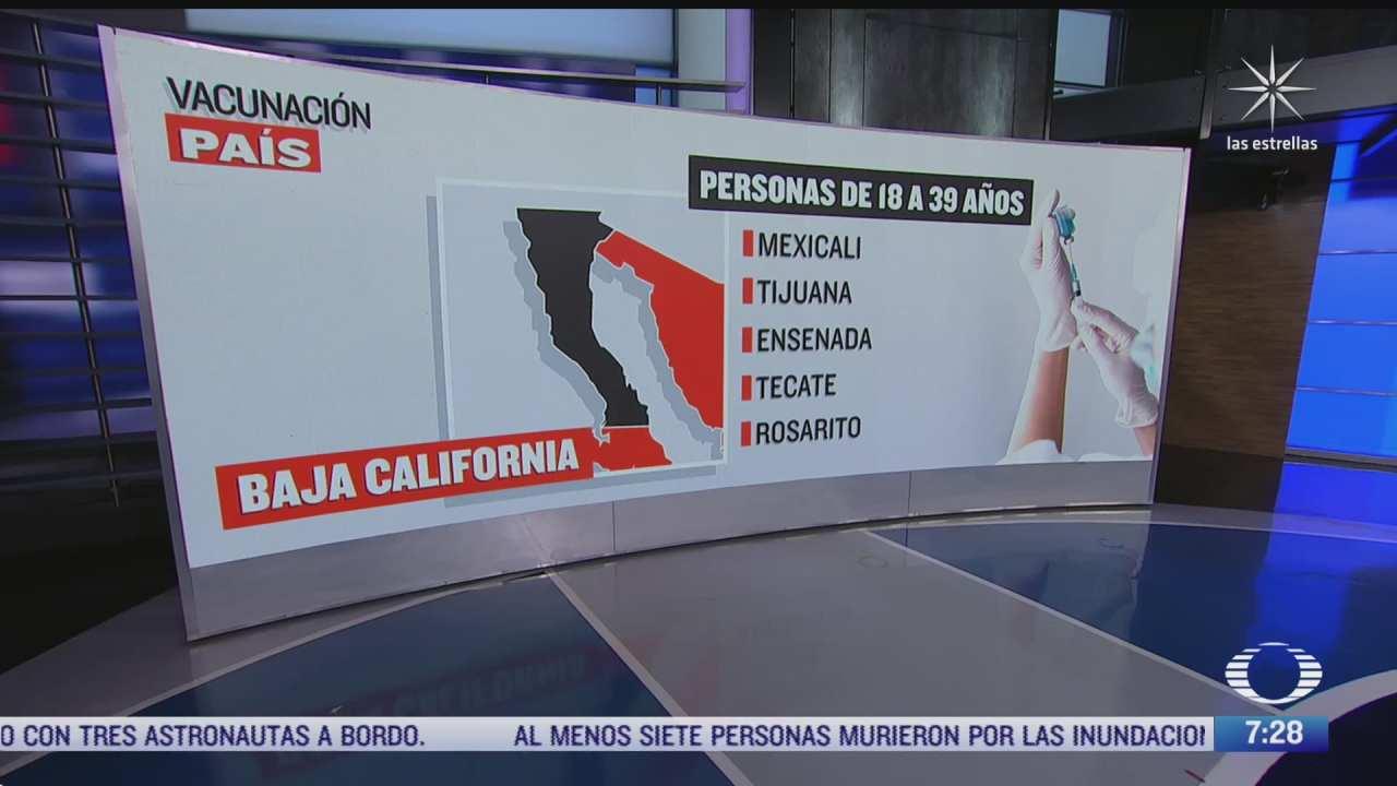 que municipios fronterizos en baja california inician vacunacion covid 19 este jueves 17 de junio