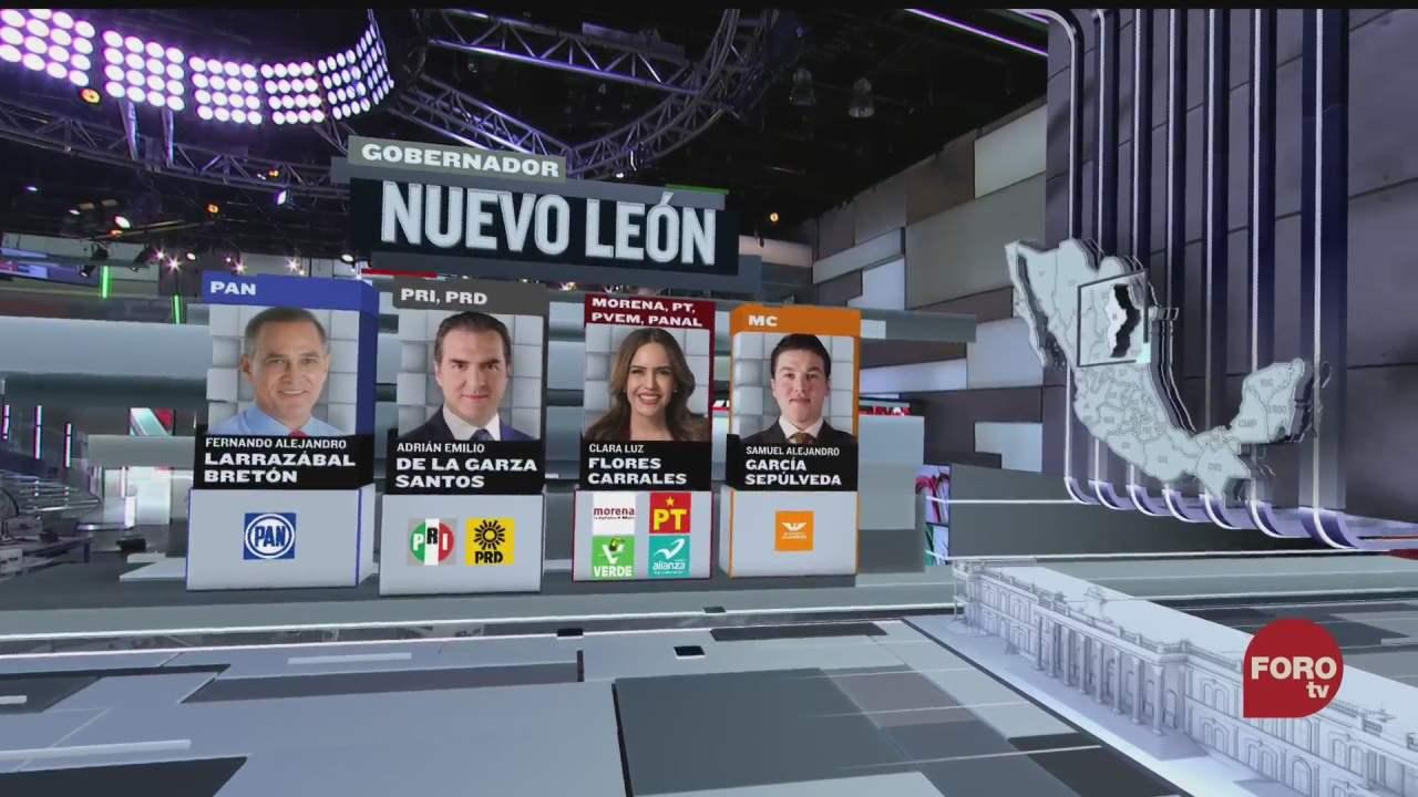 quienes son los candidatos a la gubernatura de nuevo leon