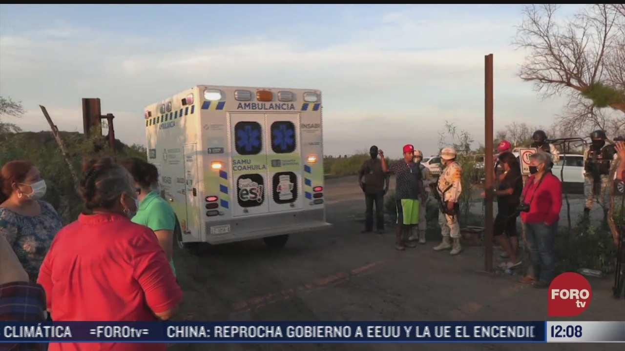 recuperan cuerpo de uno de los siete mineros atrapados en coahuila
