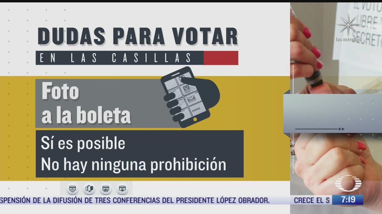 se puede ingresar con telefono celular a las casillas electorales